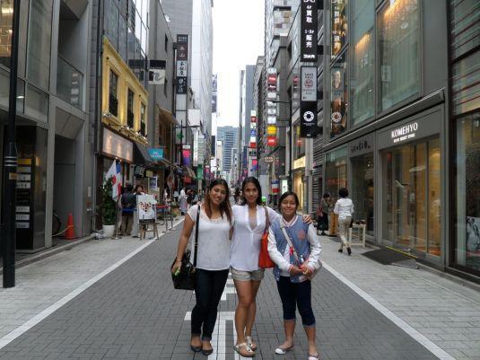 Tokyo Shopping in Ginza